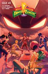 Mighty Morphin Power Rangers (2015 series) #00-4 [SET] — Volume 01: The Green Ranger, Year One (Y) (All Regular Covers)