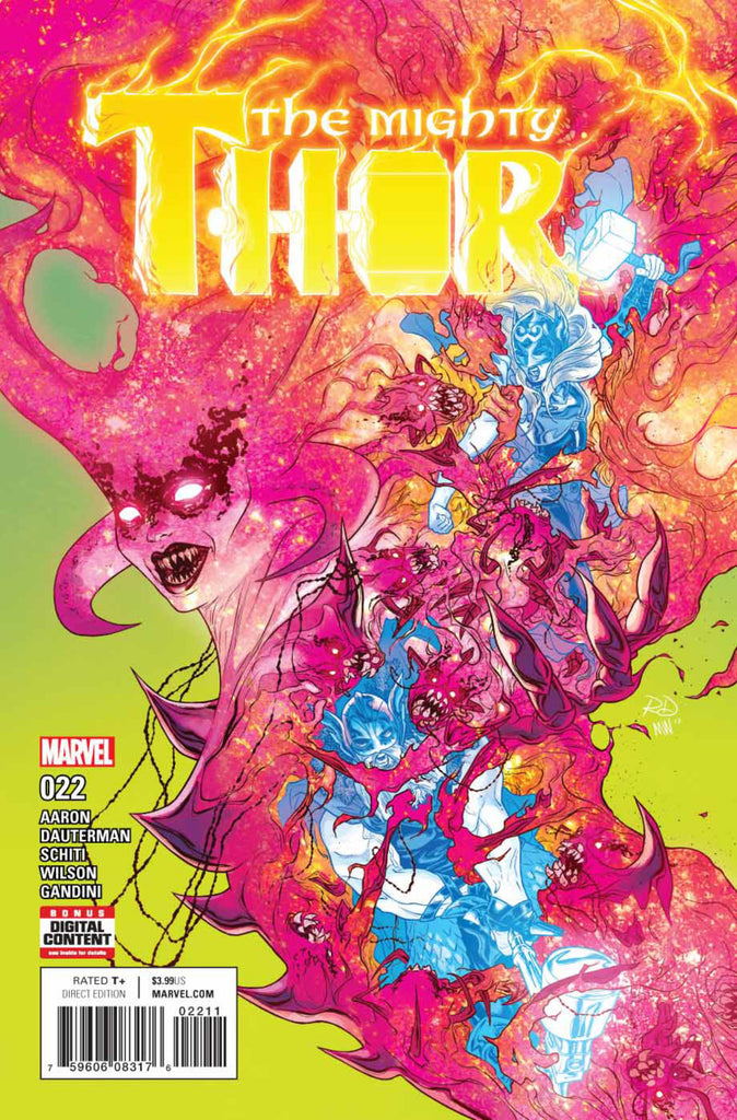 Mighty Thor (2015 Series) #22