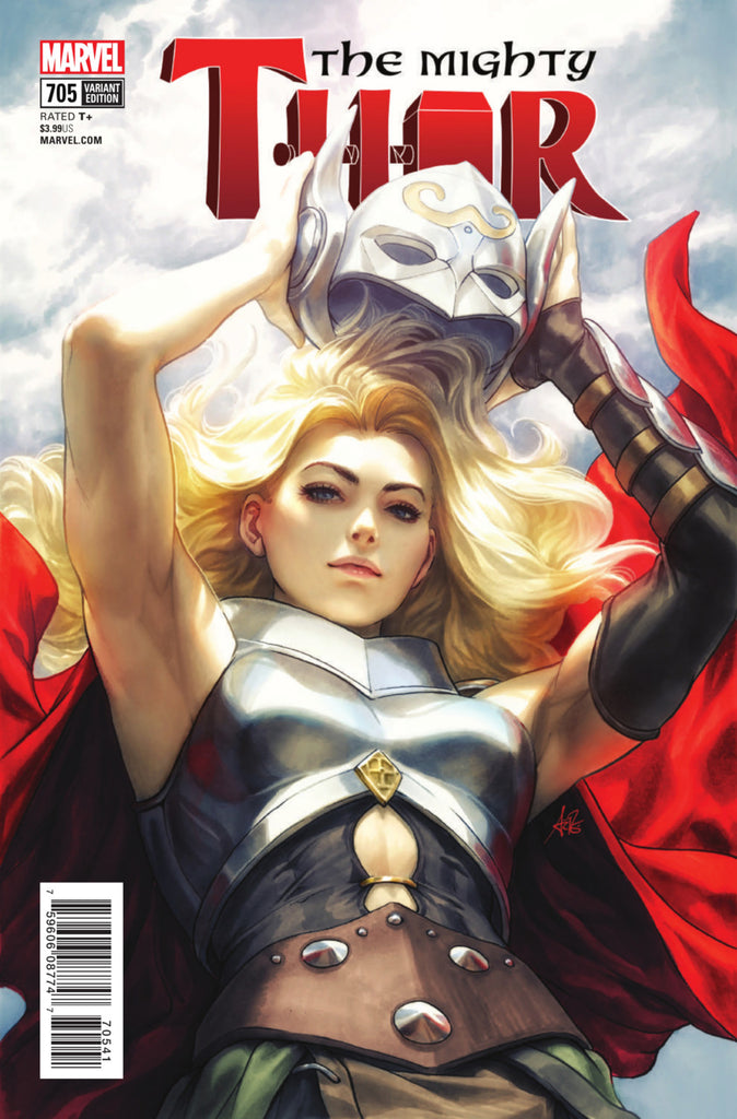 "Mighty Thor (2015 Series) #705 (Variant ""Artist"" Cover - Artgerm)"