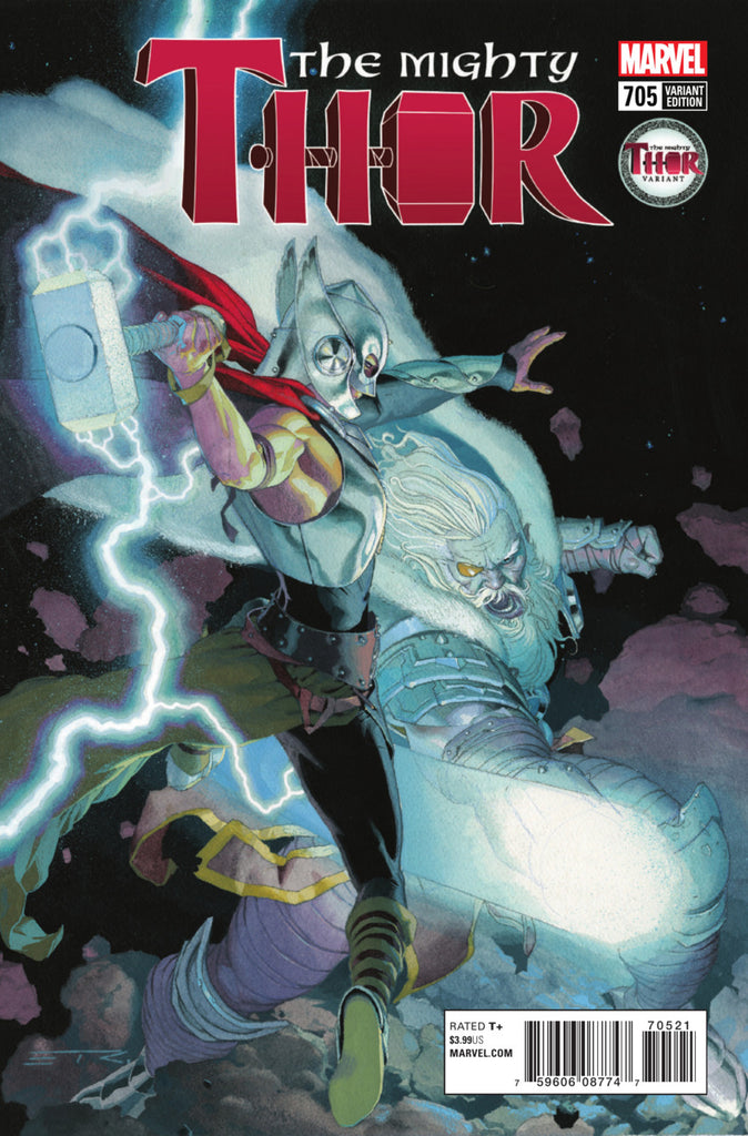 "Mighty Thor (2015 Series) #705 (Variant ""Mighty Thor"" Cover - Esad Ribic)"