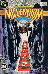 Millennium (1988 mini-series) #1-8 [SET] — No Man Escapes the Manhunters