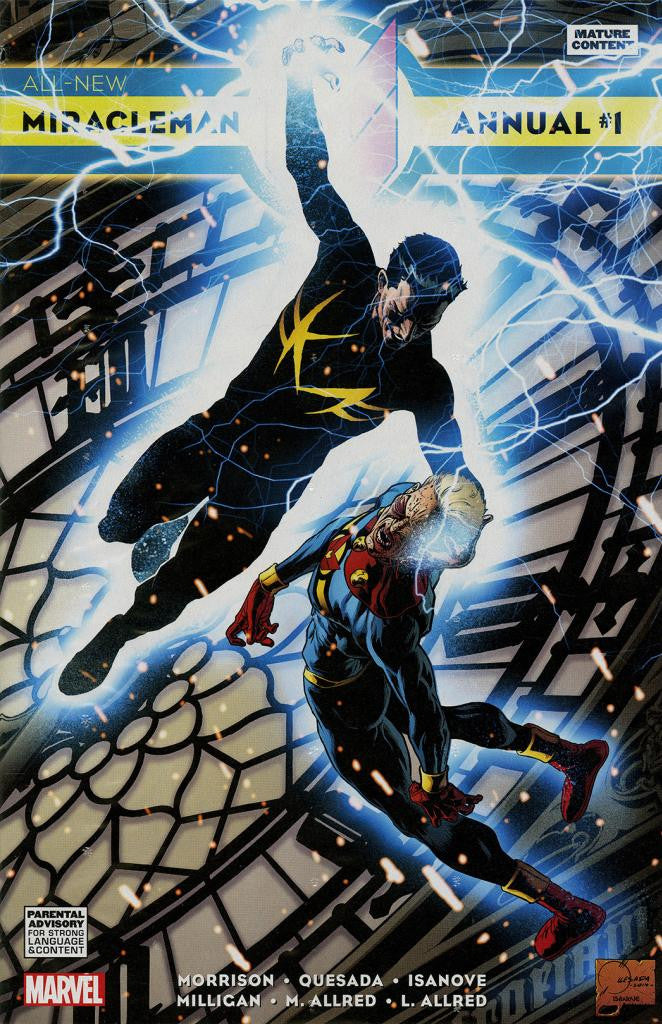 Miracleman (2014 Series) All-New Annual #1 (Variant Cover - Joe Quesada)