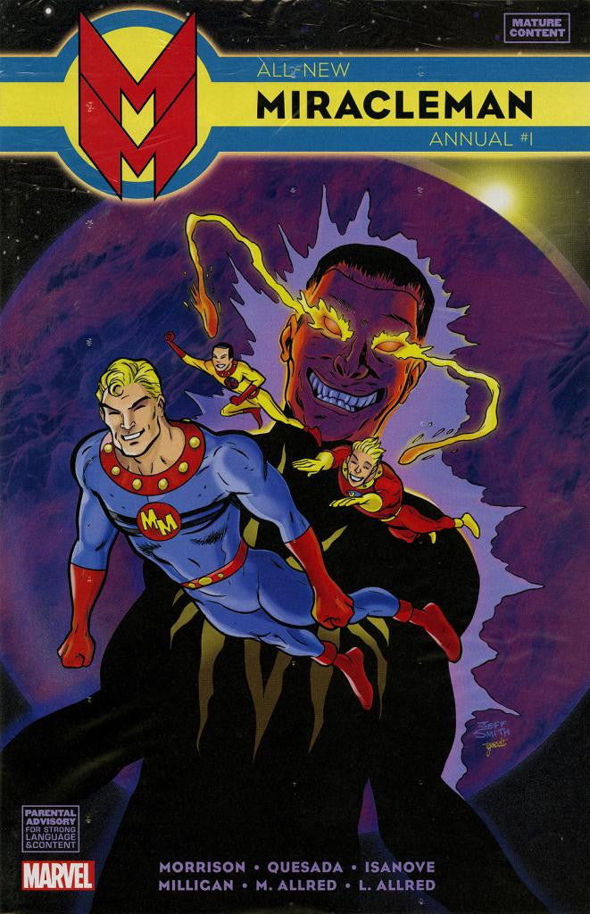 Miracleman (2014 Series) All-New Annual #1 (Variant Cover - Jeff Smith)
