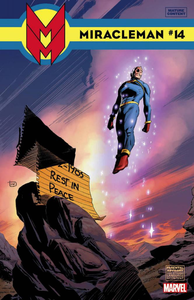 Miracleman (2014 Series) #14 (Variant Cover - Lee Weeks)
