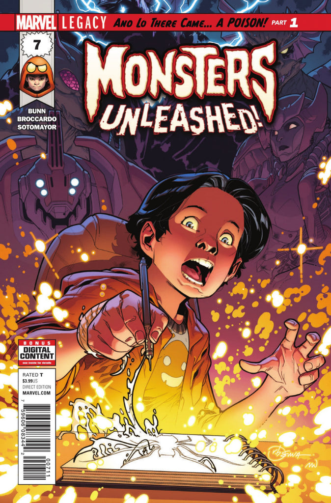 Monsters Unleashed (2017 series) #07-8 [SET] — And Lo There Came... A Poison!