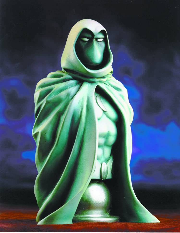 Moon Knight Bust Signed & Remarked by Mark Texeira