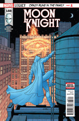 Moon Knight (2016 series) #188-193 [SET] — Volume 04: Crazy Runs in the Family (All Regular Covers)