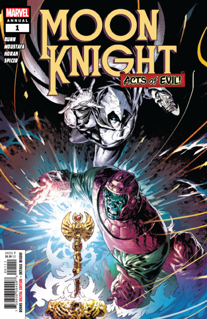 Moon Knight (2016 series) Annual #1 (Regular Cover - Philip Tan)