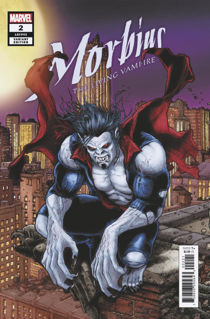 Morbius (2019 series) #2 (Variant Connecting Cover - Juan Jose Ryp)