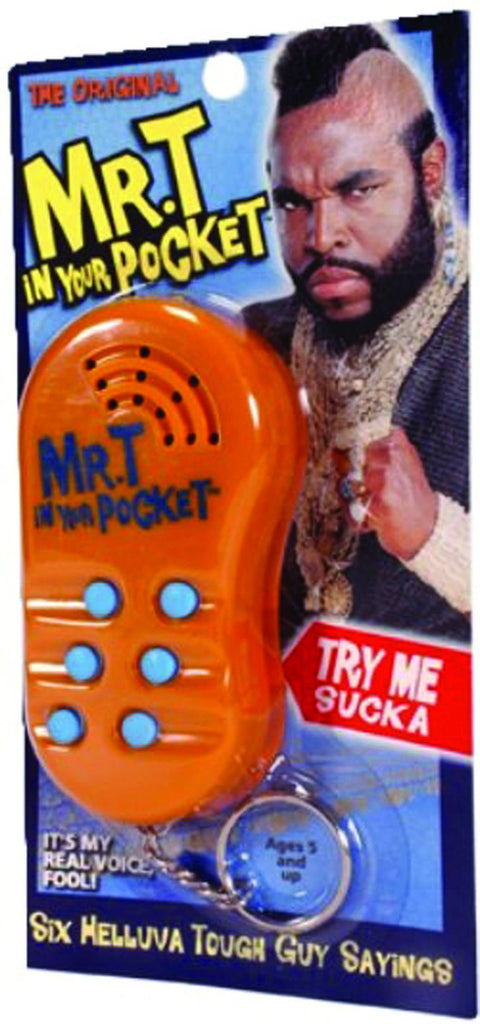Mr. T - Talking in Your Pocket Keychain