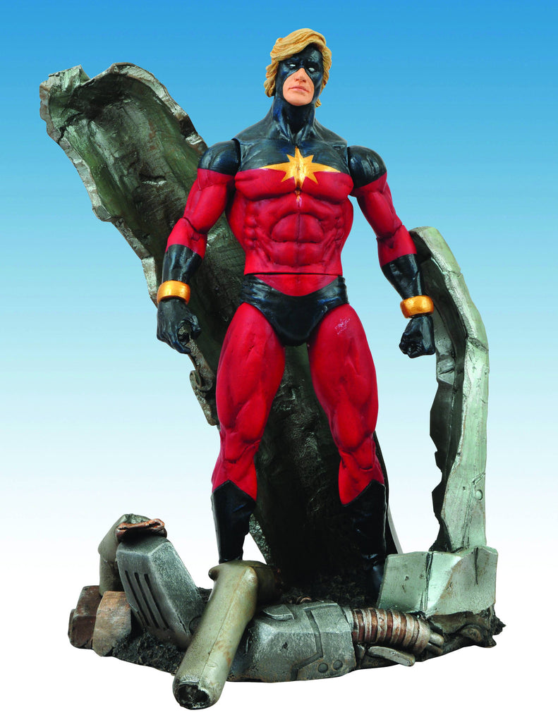 "Marvel Select – Captain Marvel (Mar-Vell of the Kree) 7"" Figure with Base"