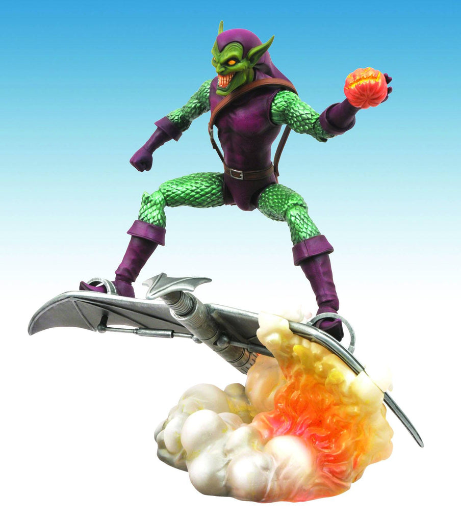 "Marvel Select – Green Goblin 7"" Figure with Base"