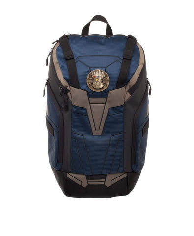 Marvel Avengers; Infinity War (Film) – Thanos – Movie-Inspired Rear-Zip Backpack