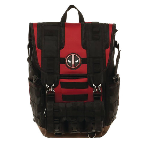Marvel Comics – Deadpool – Suit-Up Tactical Roll-Top Backpack