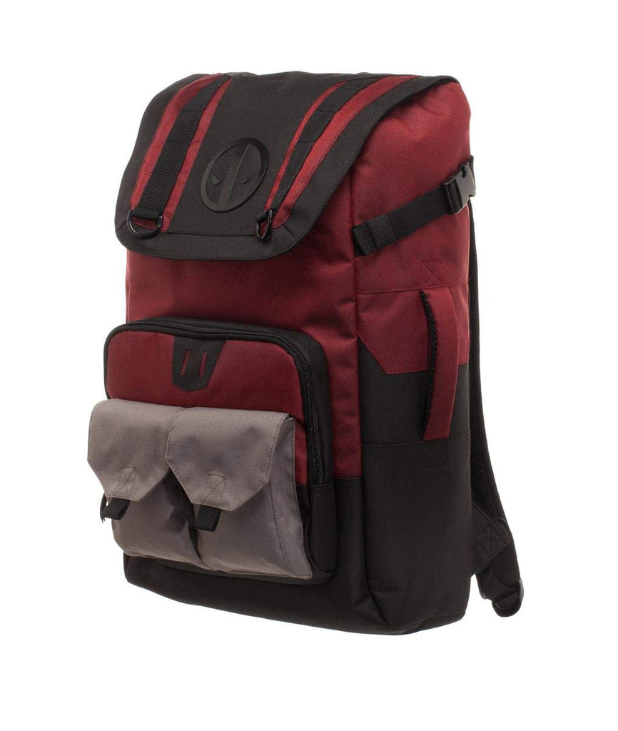 Marvel Comics – Deadpool – Large Capacity Laptop Backpack with Pouches