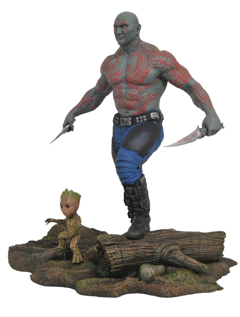 "Marvel Gallery – Guardians of the Galaxy Vol. 2 (Film) – Drax & Groot 10"" PVC Diorama Statue"