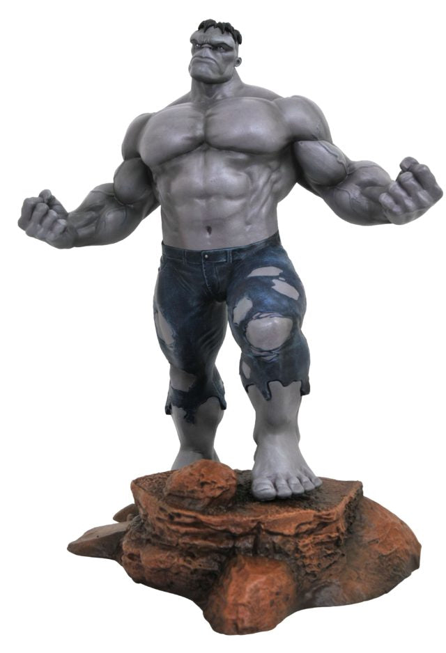 "Marvel Gallery – Hulk 11"" PVC Statue (SDCC 2018 Exclusive ""Grey"" Version)"