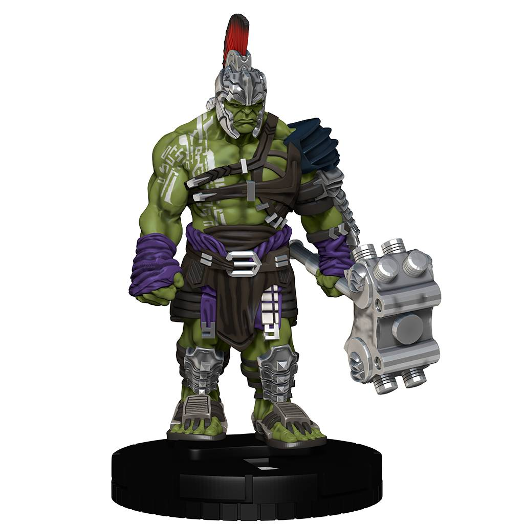 Marvel Heroclix – Thor; Ragnarok (Film) – Gladiator Hulk Heroclix Figure & Game Card (FCBD 2018 Exclusive)