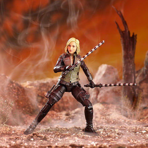 "Marvel Legends Avengers Infinity War Cull Obsidian Series – Black Widow (Movie Version) 6"" Figure (Cull Obsidian BaF)"