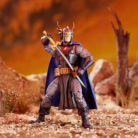 "Marvel Legends Avengers Infinity War Cull Obsidian Series – Marvel's Black Knight 6"" Figure (Cull Obsidian BaF)"