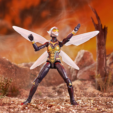 "Marvel Legends Avengers Infinity War Cull Obsidian Series – Marvel's Wasp (Movie Version) 6"" Figure (Cull Obsidian BaF)"