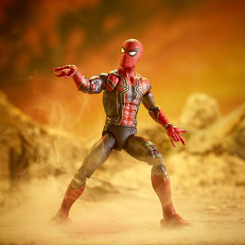 "Marvel Legends Avengers Infinity War Thanos Series – Iron Spider (Movie Version) 6"" Figure (Thanos BaF)"