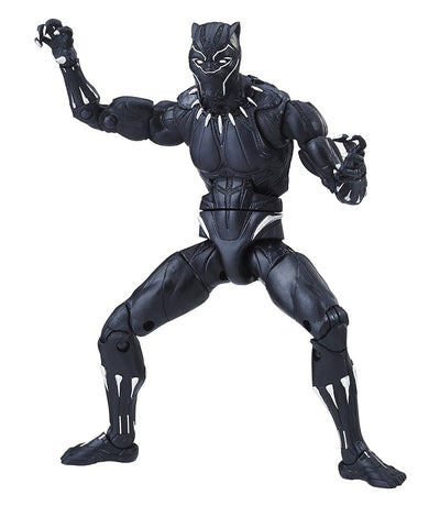 "Marvel Legends Black Panther Okoye Series – Black Panther (Movie Version) 6"" Figure (Okoye BaF)"