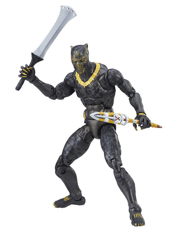 "Marvel Legends Black Panther Okoye Series – Erik Killmonger (Movie Version) 6"" Figure (Okoye BaF)"