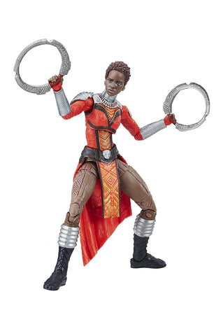 "Marvel Legends Black Panther Okoye Series – Marvel's Nakia (Movie Version) 6"" Figure (Okoye BaF)"