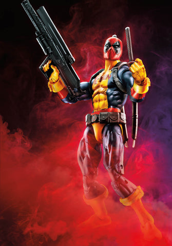 "Marvel Legends Deadpool – Sauron Series – Deadpool (Madcap Version) 6"" Figure (Sauron BaF)"