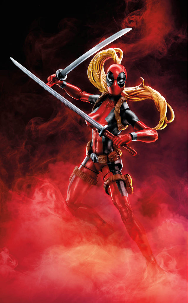 "Marvel Legends Deadpool – Sauron Series – Lady Deadpool 6"" Figure (Sauron BaF)"