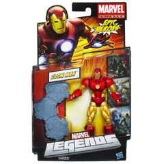 "Marvel Legends Epic Heroes Series – Iron Man (Neo Classic Version) 6"" Figure"