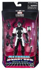 "Marvel Legends Deadpool – Exclusive Series – Deadpool (Back In Black Version) 6"" Figure (Gamestop Exclusive)"