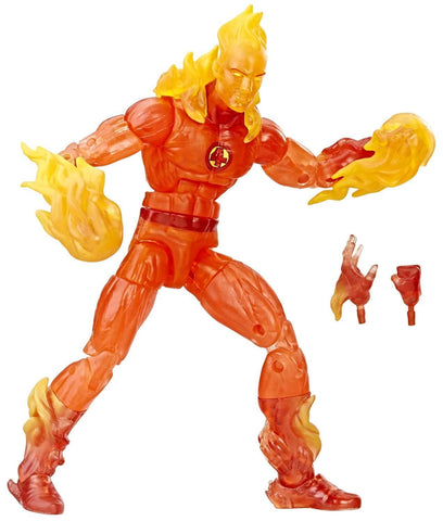 "Marvel Legends Fantastic Four – Exclusive Series – Human Torch 6"" Figure (Walgreens Exclusive)"