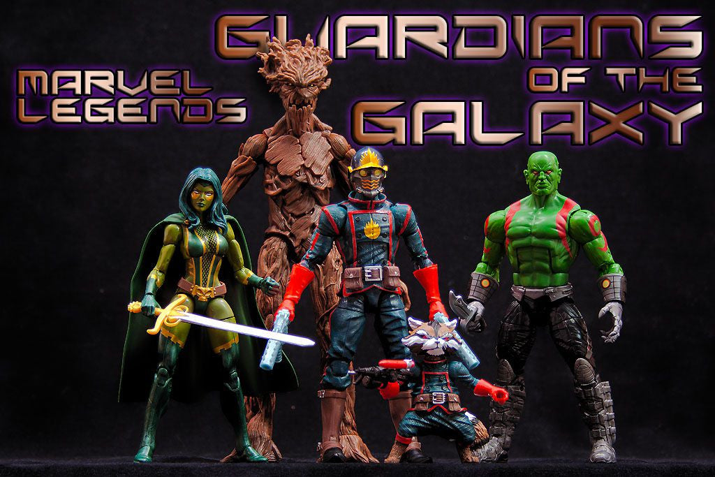 Marvel Legends Guardians Of The Galaxy Exclusive Series Guardians Danz Comix And Collektibles