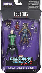 "Marvel Legends Guardians of the Galaxy Vol. 2 – Mantis Series – Rocket Raccoon & Groot (Film Versions) 6"" Figure (Mantis BaF)"