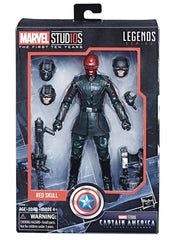"Marvel Legends Marvel Cinematic Universe 10th Anniversary Series – Captain America; The First Avenger (Film) – The Red Skull 6"" Figure"