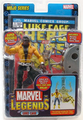 "Marvel Legends Toy Biz – Series 14 – Luke Cage; Hero for Hire 7"" Figure (Mojo BaF)"