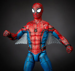 "Marvel Legends Spider-Man: Homecoming Vulture Series – Spider-Man (Film Version) 6"" Figure (Vulture Wings BaF)"