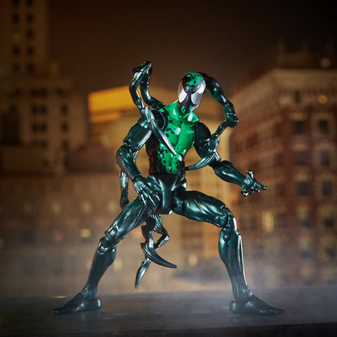 "Marvel Legends Spider-Man Lizard Series – Marvel's Lasher 6"" Figure (Lizard BaF)"