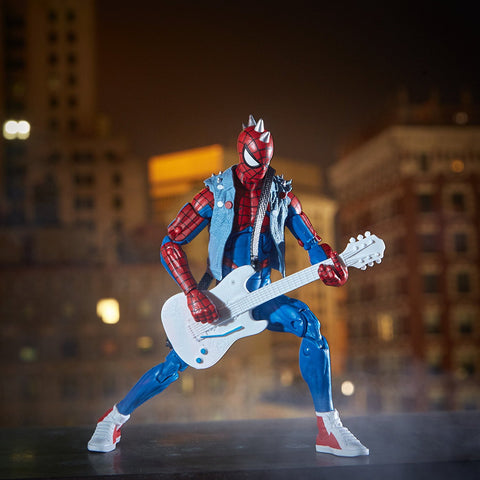 "Marvel Legends Spider-Man Lizard Series – Spider-Punk 6"" Figure (Lizard BaF)"