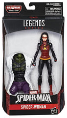 "Marvel Legends Spider-Man – Lizard Series – Spider-Woman 6"" Figure (Lizard BaF)"
