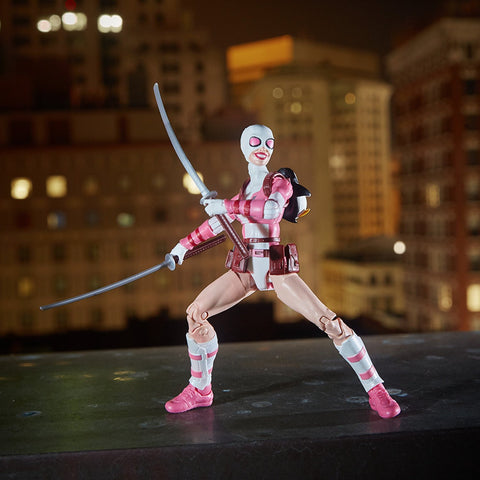 "Marvel Legends Spider-Man Lizard Series – Unbelievable Gwenpool 6"" Figure (Lizard BaF)"