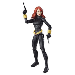 "Marvel Legends Super Heroes Vintage Series – Wave 1 – Black Widow 6"" Figure"