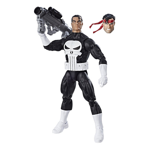 "Marvel Legends Super Heroes Vintage Series – Wave 1 – Punisher 6"" Figure"