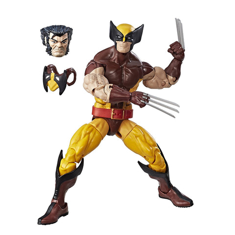 "Marvel Legends Super Heroes Vintage Series – Wave 1 – Wolverine 6"" Figure"
