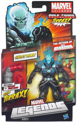 "Marvel Legends Marvel Universe – Terrax Series – Ghost Rider (Regular ""Blue Flame"" Version) 6"" Figure (Terrax BaF)"