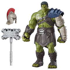 "Marvel Legends Thor: Ragnarok – Gladiator Hulk Series – Nine Realms Warriors: Thor Odinson 6"" Figure (Gladiator Hulk BaF)"