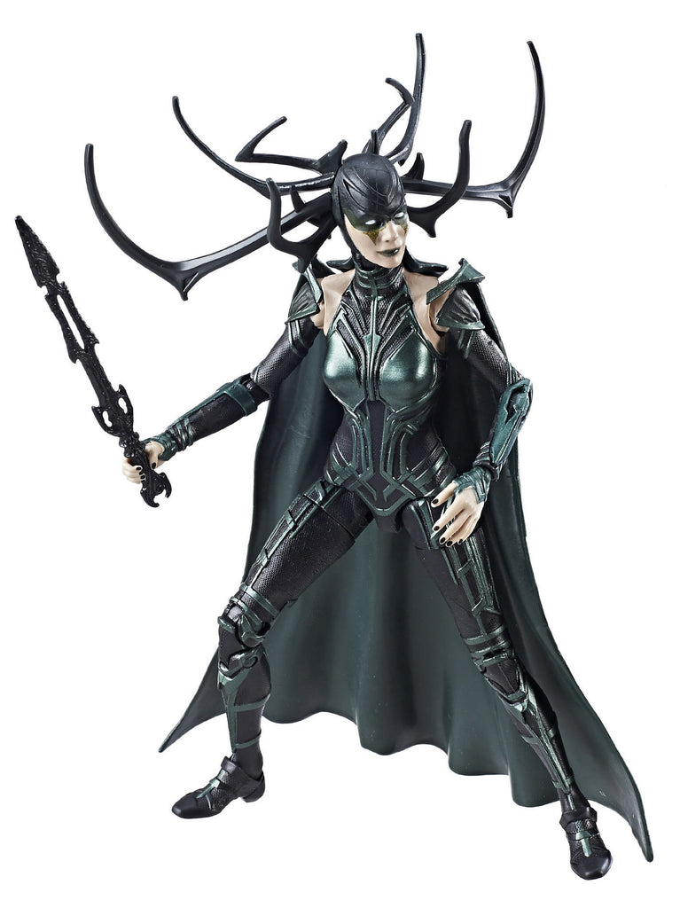"Marvel Legends Thor: Ragnarok Gladiator Hulk Series – Hela; Goddess of Death (Film Version) 6"" Figure (Gladiator Hulk BaF)"
