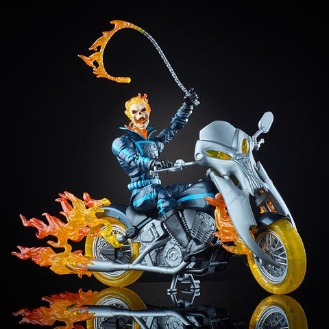 "Marvel Legends – Ultimate Action Figures Series – Ghost Rider 6"" Figure with Flamecycle"